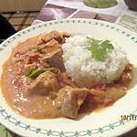 recette Sauté de porc Curry à l'ananas