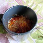 recette MugPizza (3mns top chrono pour un repas sur le pouce)