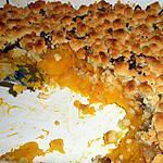 recette Crumble de butternut aux chataîgnes