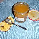 recette Confiture de poires au gingembre