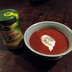 recette Soupe de betteraves au raifort, à l'aneth et à la crème