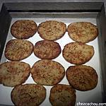 recette Biscuits aux châtaignes et parmesan