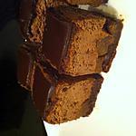 recette Cheesecake chocolat et poires caramélisées