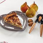 recette Tarte aux poires et aux noix