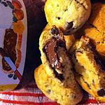 recette Cookies coeur nutella