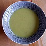 recette potage aux concombres