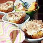 recette Bouchées peach n' cream