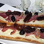 recette Tartines italienne