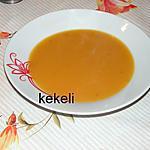 recette Soupe de potiron à la paysanne