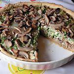 recette quiche au thon et aux petits légumes