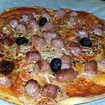 recette Pizza chipolata