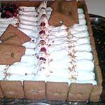 recette entremet spéculoos/chocolat
