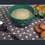 recette Velouté de courgettes pommes de terre boursin (au companion ou autres robots)