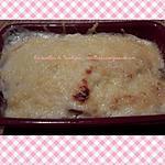 recette Gratin de poireaux au jambon (au companion ou autre robot)