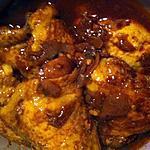 recette Haut de cuisses de poulet à la chinoise