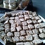 recette LECKERLIS AUX NOISETTES