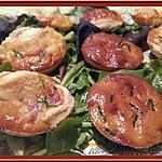 recette Minis tartelettes au bacon et Chavignol