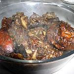 recette Cuisses de poulet à la chinoise