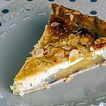 recette Tarte poires amandes cerises