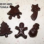 recette Pralines à la crème de poires et aux Noisettes/Pistache