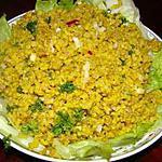 recette Salade de riz brun