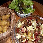 recette Pommes de terre au reblochon