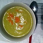 """recette Soupe aux fânes et tiges de fenouil """"thermomix"""""""