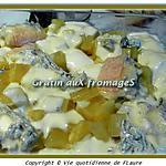 recette Gratin auX fromageS