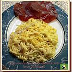 recette Gratin de torsettes et spaghettis courts façon Cyril Lignac