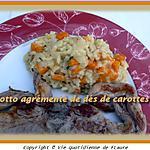 recette Risotto agrémenté de dés de carottes