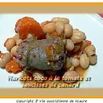 recette Haricots coco à la tomate et saucisses de canard