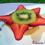 recette Tartelettes aux fraises et kiwi