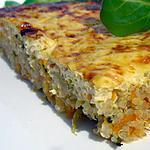 recette Galette de légumes au quinoa