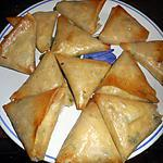 recette Samoussas au thon