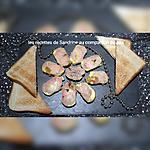 recette Foie gras maison à l'Armagnac, ananas, papaye (au companion ou autres robots)