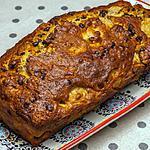 recette Cake farine de blé et semoule de maïs, poires et chocolat