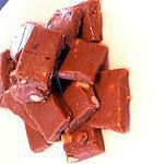 recette Fudge chocolat au lait et noisettes torréfiées
