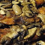 recette Poulet au paprika et champignons