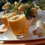 recette Verrine de melon à la noix de coco