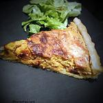 recette Tarte à la patate douce et bacon