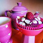 recette Cupcakes choco-framboise