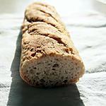 recette Baguette sans gluten & sans lactose