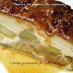 recette Terrine de pommes au caramel