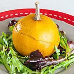 recette Pommes d'or farcies au jambon et au roquefort