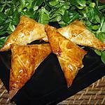recette Feuilletés au fromage à la grec