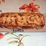 recette Cake aux pommes et aux flocons d'avoine