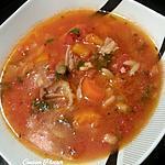 recette Chorba agneau-légumes (avec butternut)