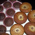 recette Muffins Choco et Muffins Banane