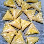 recette Samoussa camembert/pommes