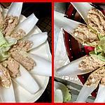 recette Feuilles d'endives apéritif au thon